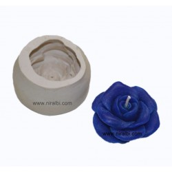 Rose Flower Candle Mould, Order Online Niral Industries