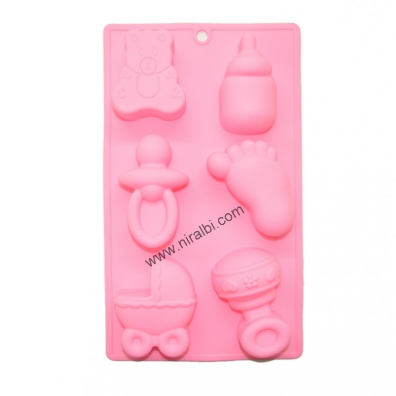Baby Shower Soap Making Mould