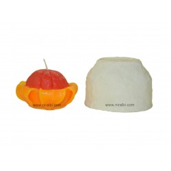 Peeled Orange Fruit Shape Silicon Mould