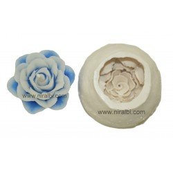 Designer Floating Flower Silicone Candle Mould, Order Online Niral Industries