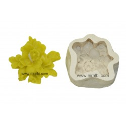 Unique Designer Floating Flower Candle Mold, home made, giftings, offers
