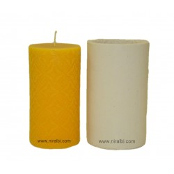 Larger Designer Pillar Silicone Candle Mould - SL526 Niral Industries