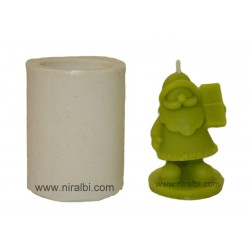 Santa Claus With Whistle Candle Mould, Order Online Niral Industries