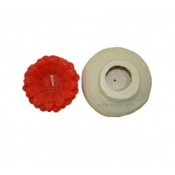 Small Sunflower Candle Mould