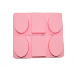 Train Soap Making Rubber Mould