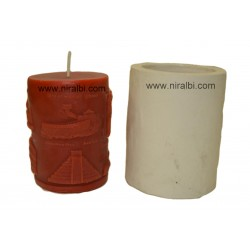 Wonders Of The World Pillar Candle Mould, Order Online Niral Industries