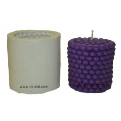 Pearl Shape Pillar Candle Mould, Order Online Niral Industries