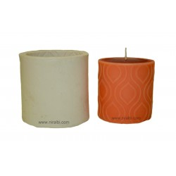 Small Designer Silicone Candle Mould - SL533 Niral Industries