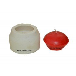 Floating Peda Candle Mould
