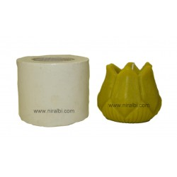 Small Lotus Hurricane Candle Mould - SL575 Niral Industries