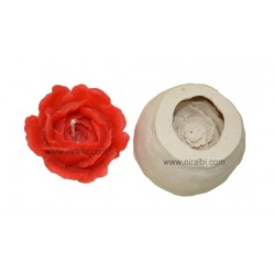 15-16 Petals Rose Candle Mould - SL578 Niral Industries