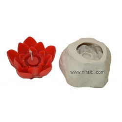 Lotus Floating Silicone Candle Mould - SL579 Niral Industries