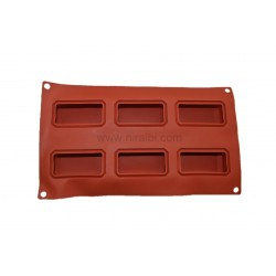 Rubber Diamond Cut Tray Soap Making Mold