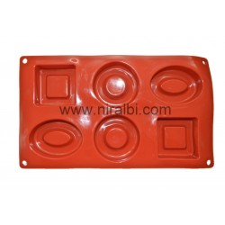 Niral Industries, Geometry Shape Rubber Soap Making Mould