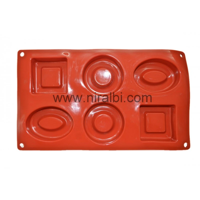 Niral Industries, Geometry Shape Rubber Soap Making Mould
