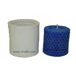 Honey Comb Silicone Candle Mould - SL580 Niral Industries