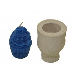 Cup Cake Silicone Candle Mould, Order Online Niral Industries