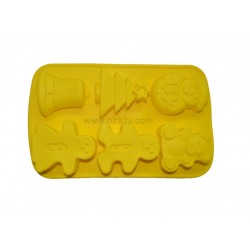 Christmas Bell And Tree Soap Making Rubber Soap Mold