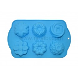 SP32151, Different Flower Niral Soap Mold