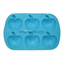 Apple Shape Silicone Soap Mould