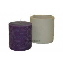 Small Pillar Silicone Candle Mould - SL542 Niral Industries