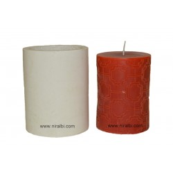 Medium Pillar Silicone Candle Mould, Buy Online Now
