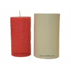 Large Pillar Silicone Candle Mould, Buy Online Now