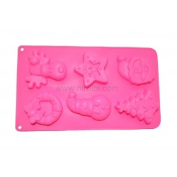Santa Set Rubber Soap...