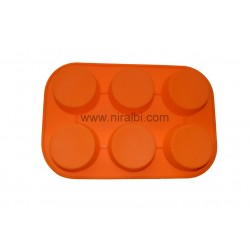 Round Buffin Big Soap Mould