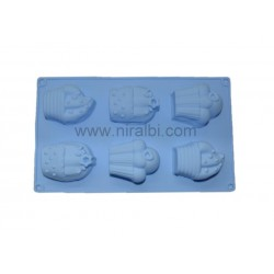 Cake Soap Making Rubber Mould