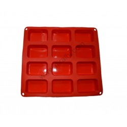 Medium 12 Cavity Rectangle Soap Mould