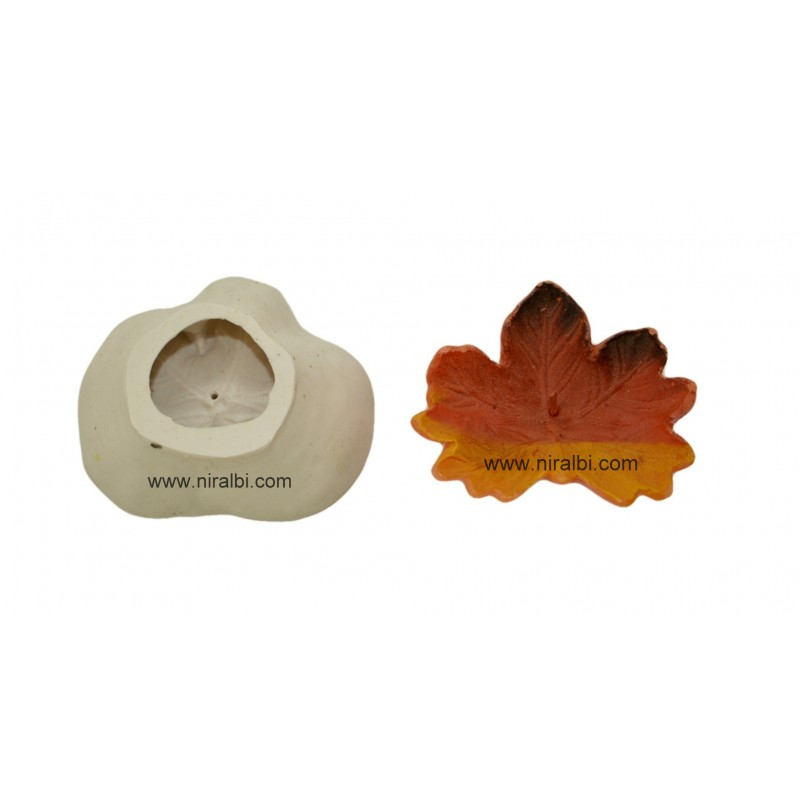 Silicone Rubber Maple Floating Candle Mould