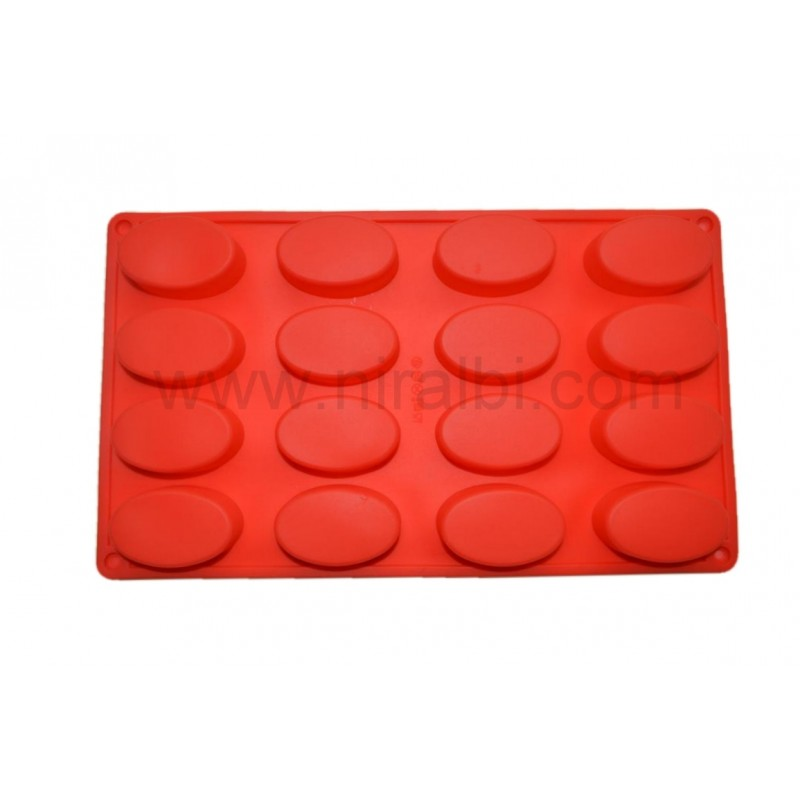 Small Oval Shape Tray Soap Mould