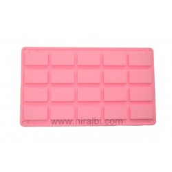 20 cavity rectangle Soap Mould