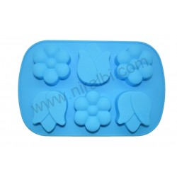 Simple Cute Niral Flower Soap Making Mould