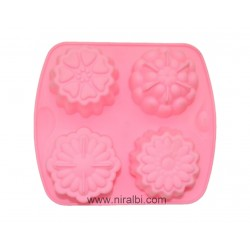 4 Different Flower Soap Making Mould