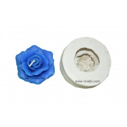 Rose Floating Silicone Candle Mould, Order Online Niral Industries