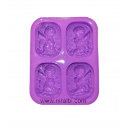 Couple angel Soap Making Mould