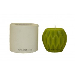 Three Dimensional Geometric Texture Candle Mould - SL596 Niral Industries
