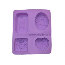 Designer Niral Rubber Soap Making Mold