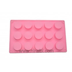 Small Round Rubber Soap Making Mould