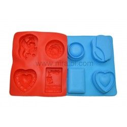 Multi Shapes Designer Soap Mould
