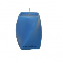 Square Twisted Pillar Candle Mould