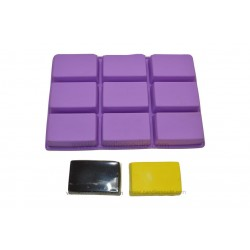 Big Rectangle Tray Type Niral Rubber Soap Mold