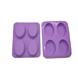 Oval Shape Designer Soap Making Mould