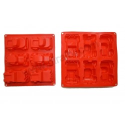 Niral Designer Car Tray Soap Making Mold
