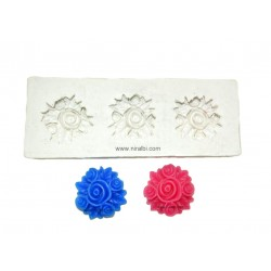 Tart Flower Candle Mould SL455