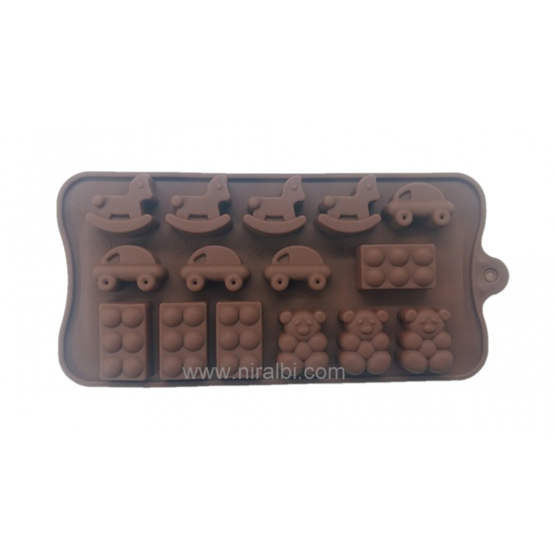 Rubber Chocolates Making Mold