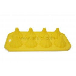 Medium Modak Shape Rubber Chocolate Mould