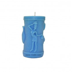 Silicone Rubber Warli Painting  Candle Molds